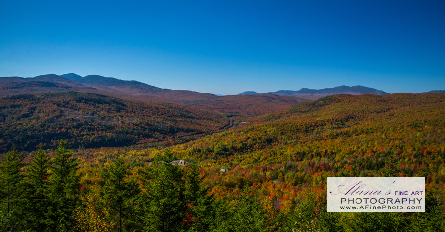 Maine fall landscape photography